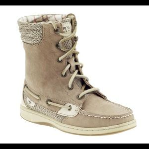 Sperry high top-sider boots
